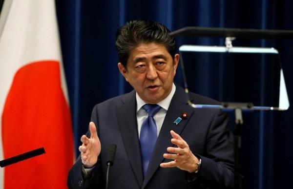 japan pm shinzo abe dissolves parliament for election