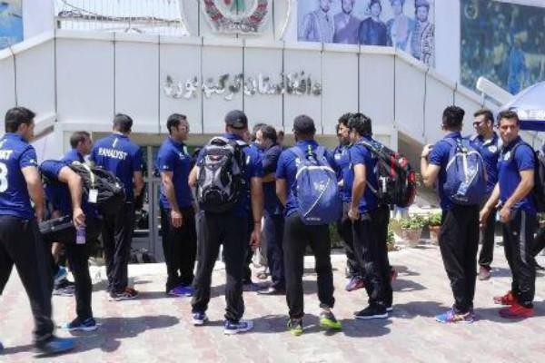 kabul international cricket stadium suicide bomber