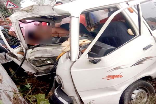 painful incident   scratch fly of  van on una amb highway  driver  s death