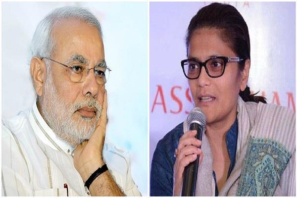 incident of gangrape with woman blurts on modi s image