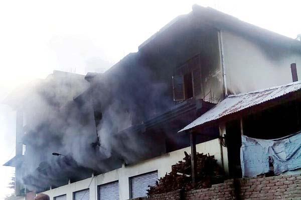 gohar  factory  fire  damage