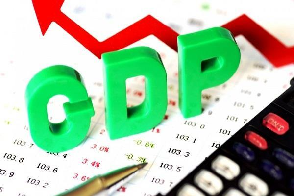gdp of india the probability of growth rate of 7 1 percent