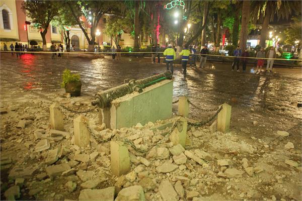 earthquake strikes mexico