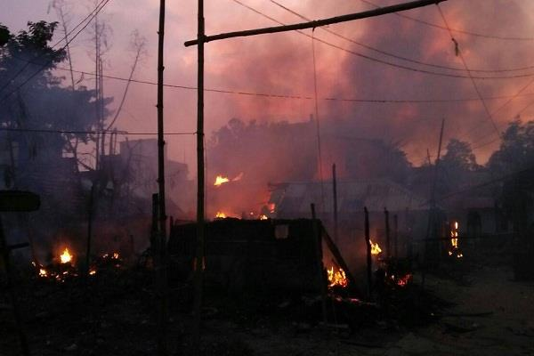 fire broke out in a fire cracker 3 killed 5 injured