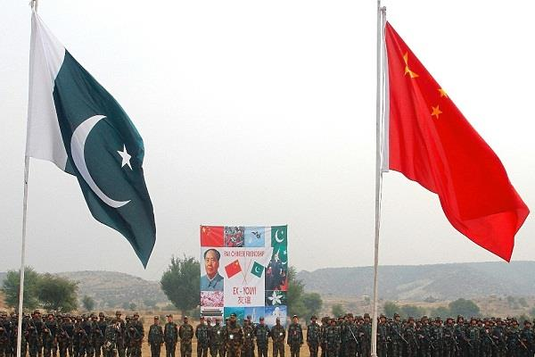 china and pak air force started joint exercises