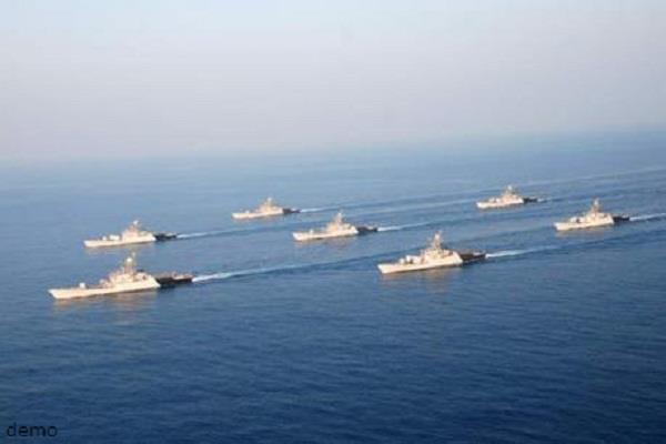 two naval ships were deployed in the western arabian sea  indian ocean
