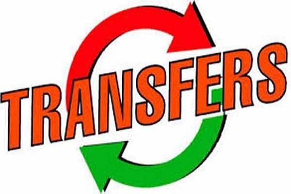 punjab 3 ias transfer of officers
