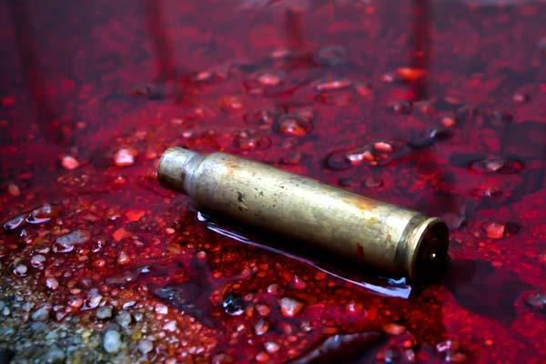 shot fired from solider  s gun in police line  two injured