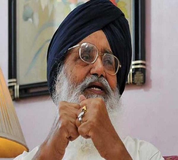 parkash singh badal speak against sukhdev singh dhindsa
