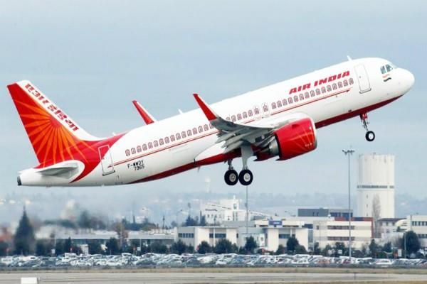 air india flight collides with the wall