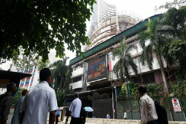 sensex falls 180 points and nifty open at 10122