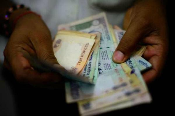 biggest in rupee at record levels of 73 70 against the dollar