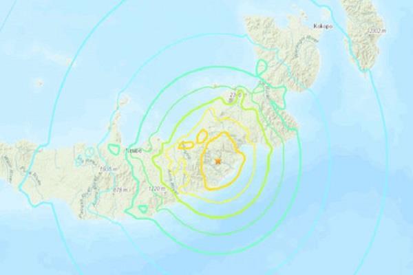 7 0 magnitude earthquake in papua new guinea tsunami warning issued