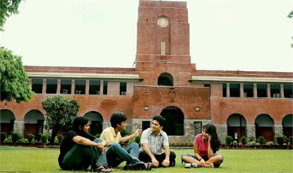 du sent the departments before naac visit