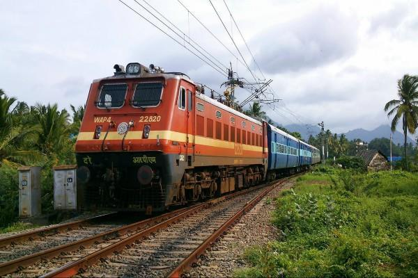 during the navratri you will also get food in the train