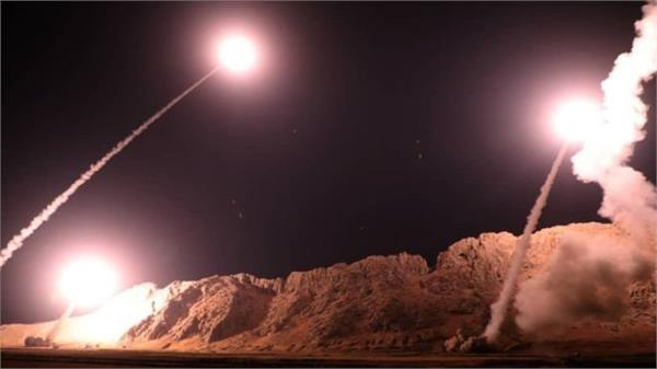 iran started missile attack over syria