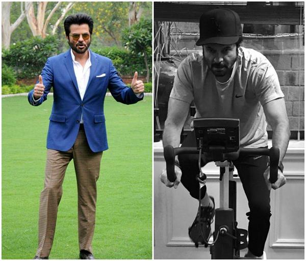 anil kapoor do cycling to stay fit and healthy