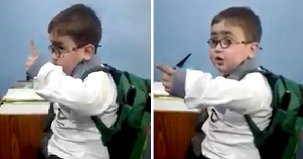 pakistani angry kid video viral on social media