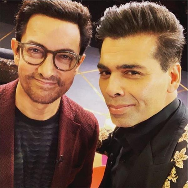 KOFFEE WITH KARAN 6' में अकेले ही नजर आएंगे आमिर खान, तस्वीरें आईं सामने
