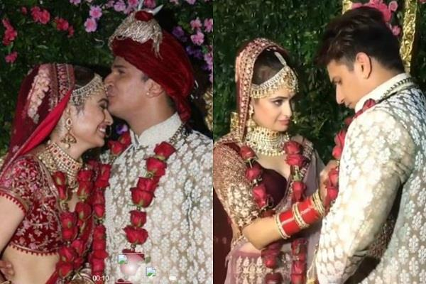 prince narula yuvika chaudhary marriage pictures