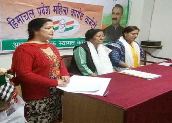 discussions of reshuffle before lok sabha election in state mahila congress