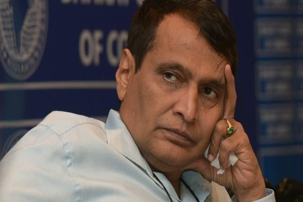 suresh prabhu will discuss key fall in falling rupee and rising trade deficit