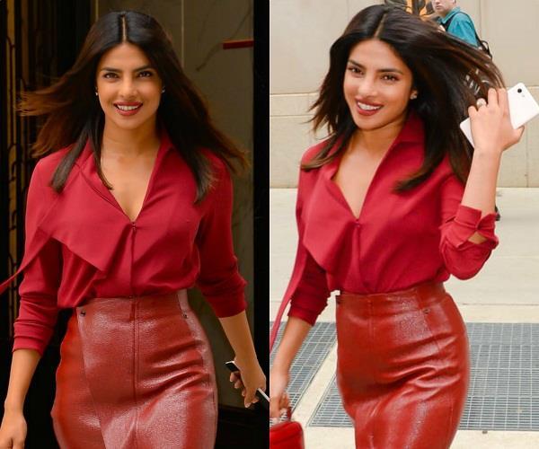 2.5 लाख की ड्रेस पहन निक से मिलने पहुंची प्रियंका चोपड़ा, सामने आई हॉट तस्वीरें