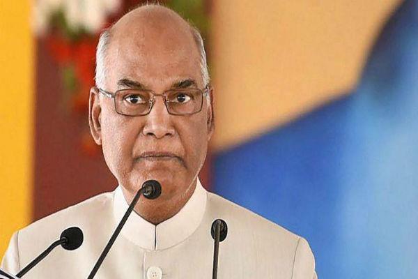 security agencies alert about president ramnath kovind visit