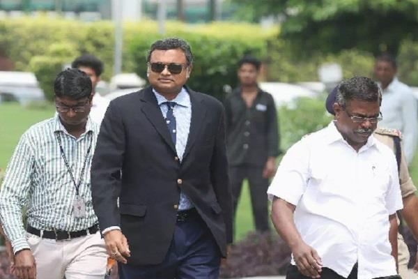 ed sealed karti chidambaram property
