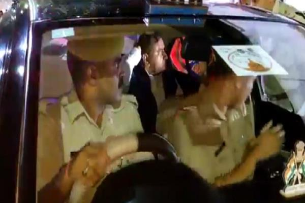 dgp on inspection of lucknow roads