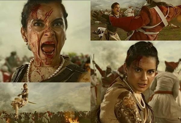 manikarnika teaser out