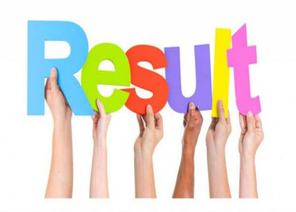 written result declared for post code 609