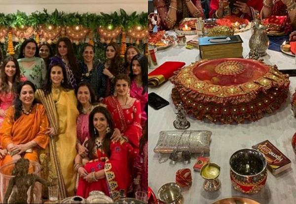 karwachauth celebration at anil kapoor house
