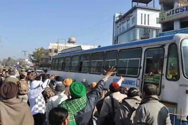 haryana roadways employees extended their four day strike