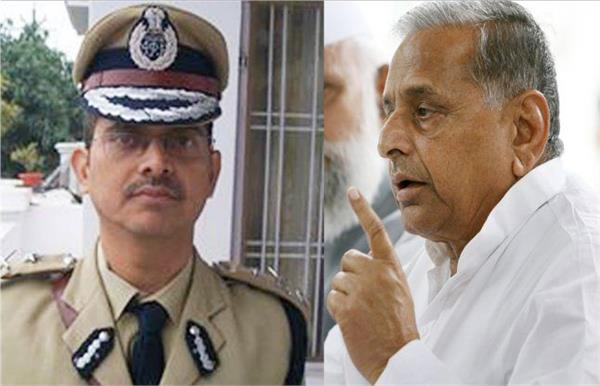ips threat case mulayam singh refuses to give sampling of his voice