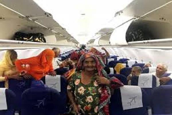 vikas completes the pilot futures air travel to the elderly including parents
