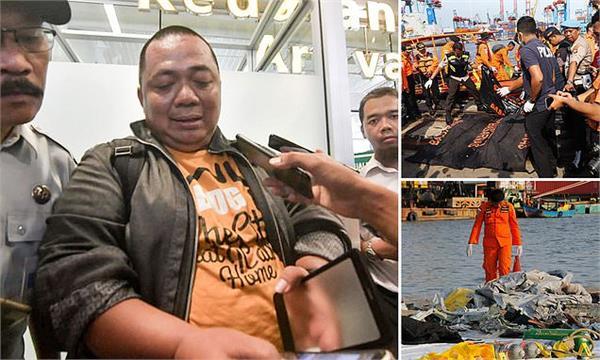 indonesia plane crash lucky passenger missed flight