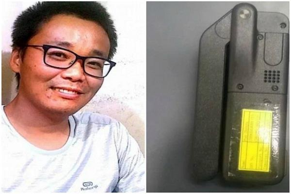 chinese citizen caught with satellite phone at varanasi airport