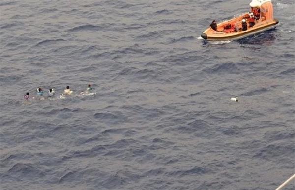 monster marlin torpedoes filipino fishing boat