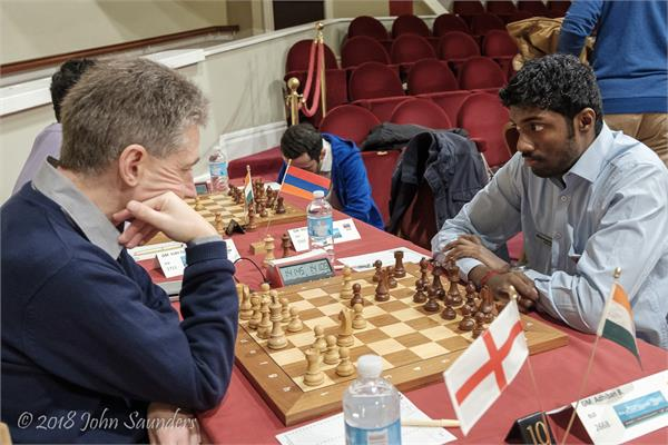 isle of man intermational chess tournament adhiban b