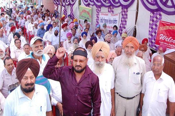demands pensioners d c office punjab news