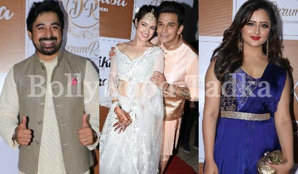 yuvika chaudhary and prince narula sangeet celebration pictures