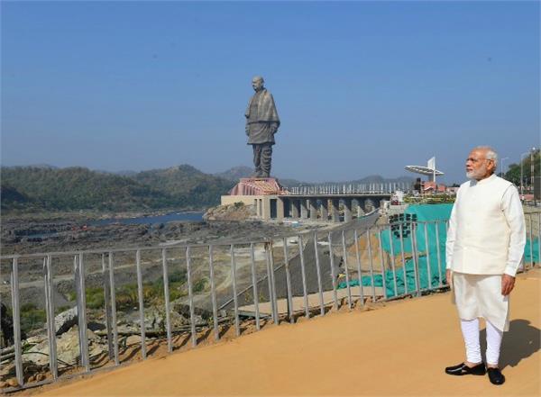 statue of unity pm modi s answer to critics