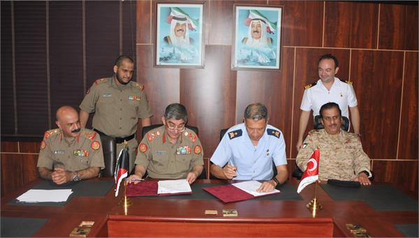 kuwait turkey armies sign 2019 defense plan