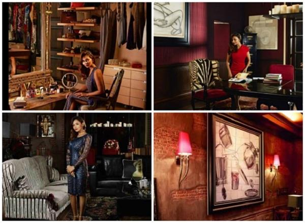 this is how the interiors of shah rukh and gauri house mannat