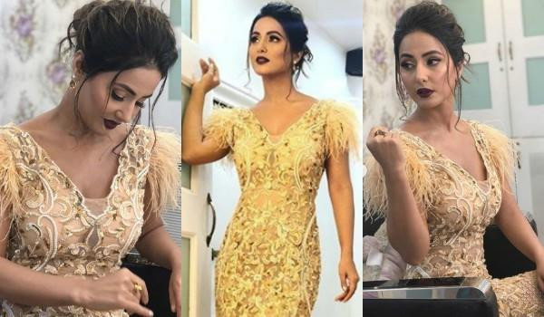 hina khan shares glamorous pictures
