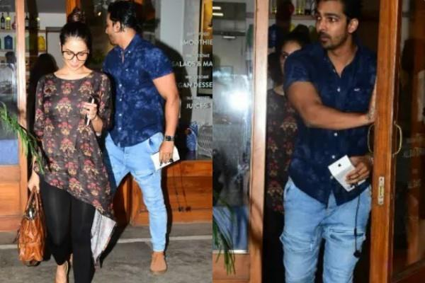 kim sharma and harshvardhan rane latest pictures