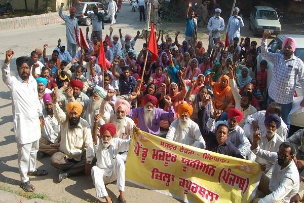 workers sdm  office punjab news