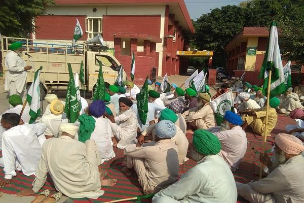 bhikiyu dakonda punjab farmer union  jai kisan movement punjab  mandi board