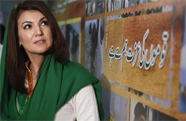 no democracy but naked martial law in pakistan reham khan